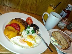 Photo: Breakfast at LHR