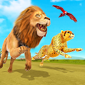 Savanna Animal Racing 3D: Wild Animal Games icon