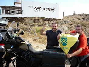 Photo: Roberto Tornos en Cabo de Creus
