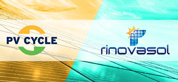 Samenwerking PV CYCLE - Rinovasol refurbishing zonnepanelen