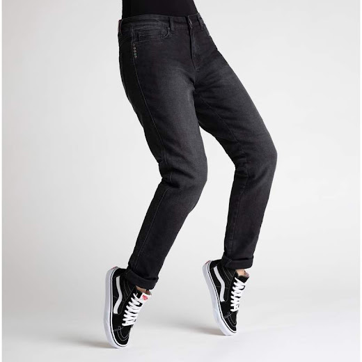 Broger California Jeans Dame (washed black)