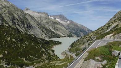 Photo: A tó három emelettel feljebbről /Ratterischbodensee/