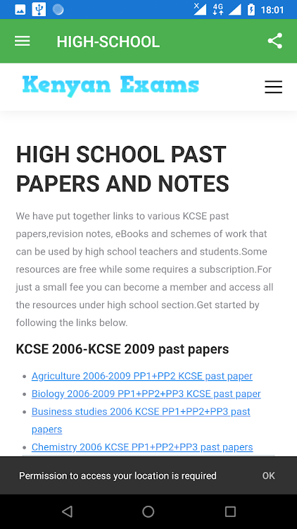 Academica e-notes and past papers – (Android Apps) — AppAgg