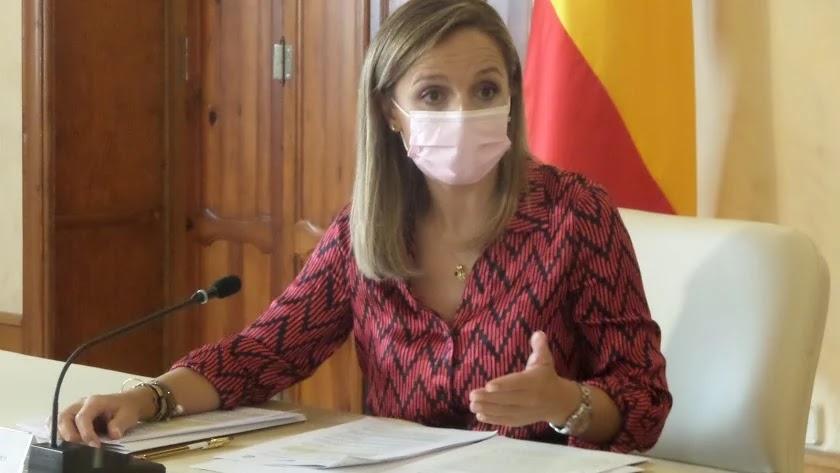 La delegada del Gobierno de la Junta en Almería, Maribel Sánchez.