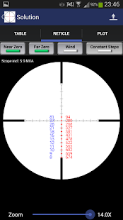 Exterior Ballistics Calculator- miniatura screenshot