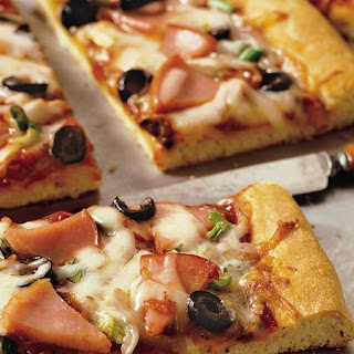 Thick-Crust Pizza.