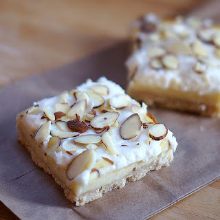 Extra Almond-y Almond Cheesecake Bars