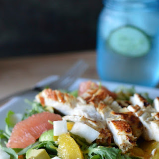 Citrus Avocado Salad with Chicken