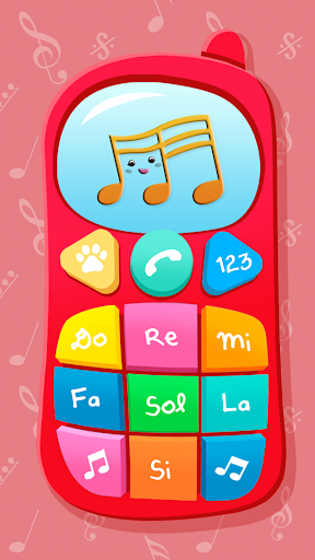 Baby Phone. Kids Game Screenshot