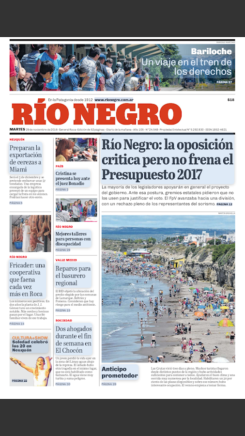 Diario Río Negro- screenshot
