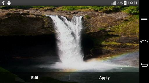 Waterfall Live Wallpaper With 6.2 screenshots 8