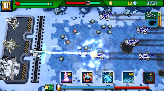 Tank ON 2 Jeep Hunter – Arcade Base Defender 3