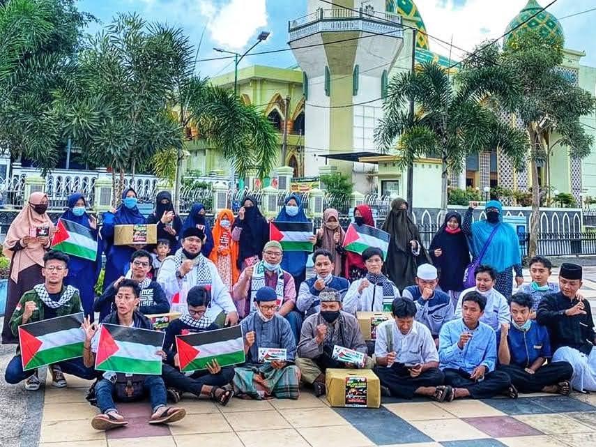 Guib Magetan Tidak Cukup Doa dan Donasi Pemerintah Harus Kirim Pasukan ke Palestina !!!