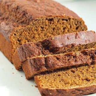 100% Whole Wheat Molasses Quick Bread.