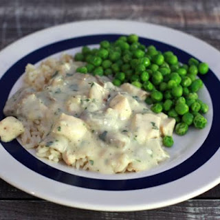 Creamed Chicken With Mushrooms