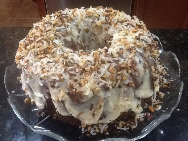 Humming Bird Bundt Cake With Cream Cheese Frosting Recipe