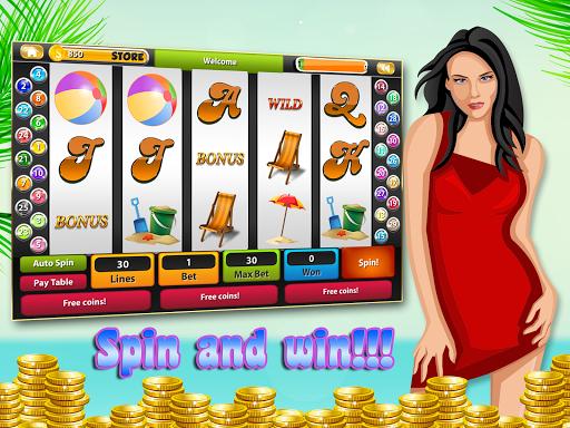 Summer HOT Slot Machine Casino 1.0 screenshots 4