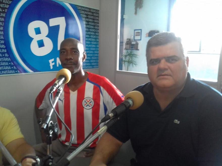 Antonio Carlos Miguel (Itabirito) e Anselmo Luiz Miguel