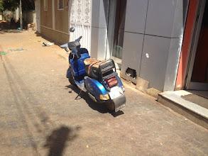 Photo: Vespa in Khartoum