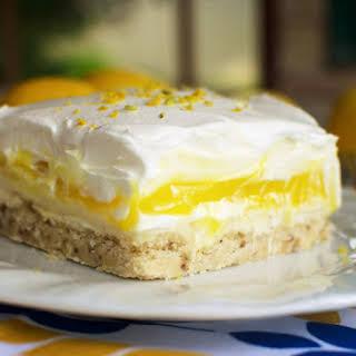 Lemon Lush Dessert.