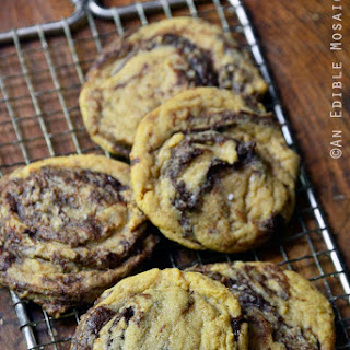 Peanut Butter Nutella Swirl Cookies Recipe