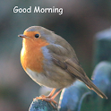 Good morning wake up feel good icon