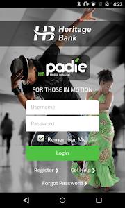HB Padie by Heritage Bank screenshot 0