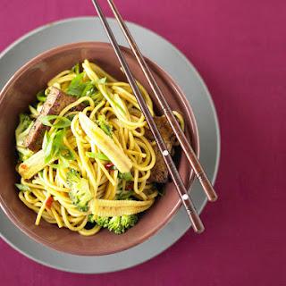 Teryaki Tofu Noodles.