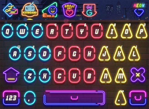 Neon for FancyKey Keyboard
