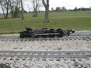 Photo: Doug Gillory's 2-8-0 chassis