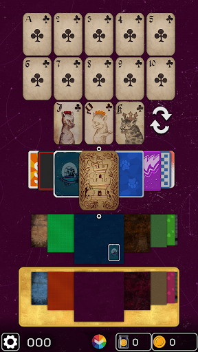 FLICK SOLITAIRE - FLICKING GREAT NEW CARD GAME android2mod screenshots 16