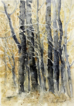 "Photo: The Forest for the Trees.  watercolor.  8""x10"""