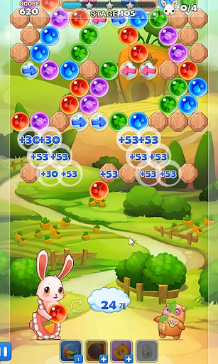 Pop Pop Bunny - Bubble Shooter