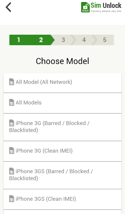 SIM Unlock Mobile Phone- screenshot