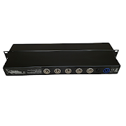 5x Powercon Out LED Rack Light rear