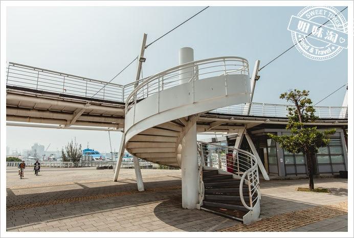 新光碼頭樓梯