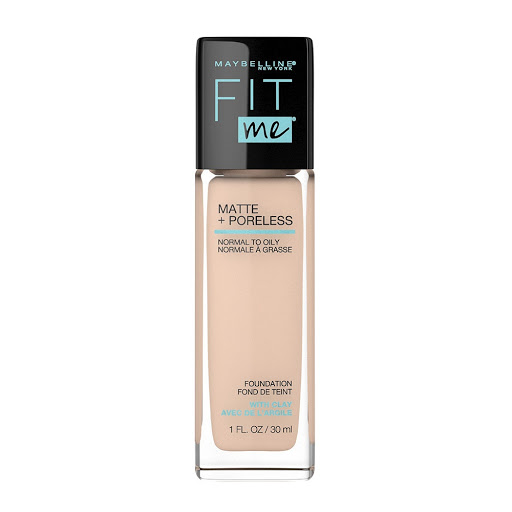 base fit me maybelline matte+poreless classic ivory 120