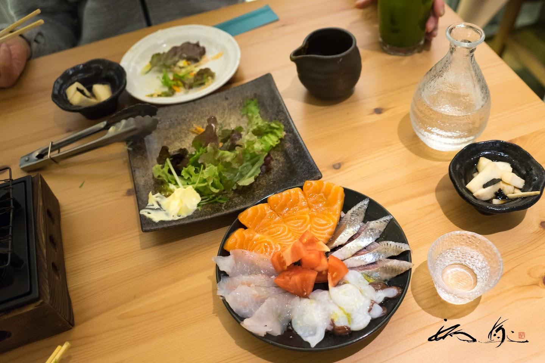 4種の鮮魚でカルパッチョ!