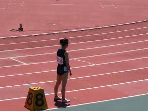 Photo: 最初のレースは、おりかさんの凱旋帰国レース800m!