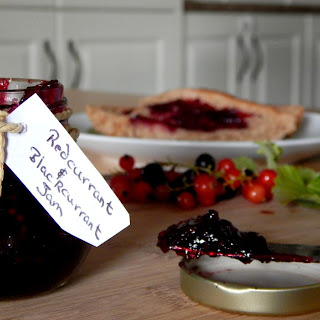 Redcurrant and Blackcurrant Jam.