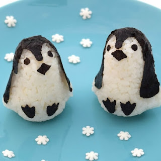 Rice Penguins & Penguin Muffin Tin Meal Recipe