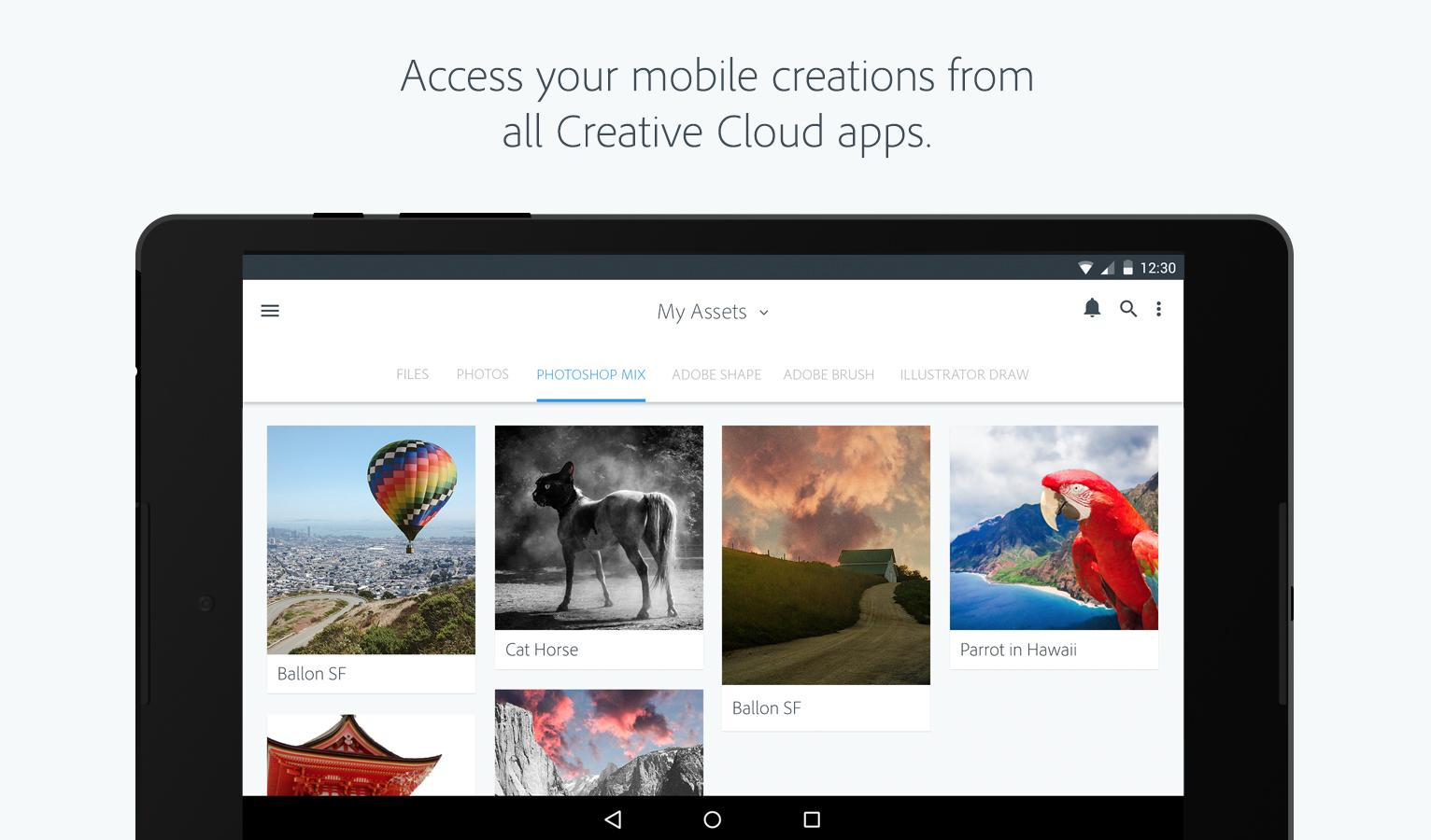 Adobe Creative Cloud- screenshot