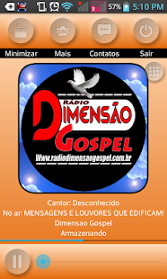 Rádio Dimensão Gospel- screenshot thumbnail