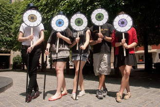 Photo: All Eyes on Art at Katz Plaza, Pittsburgh PA, May 17, 2013.