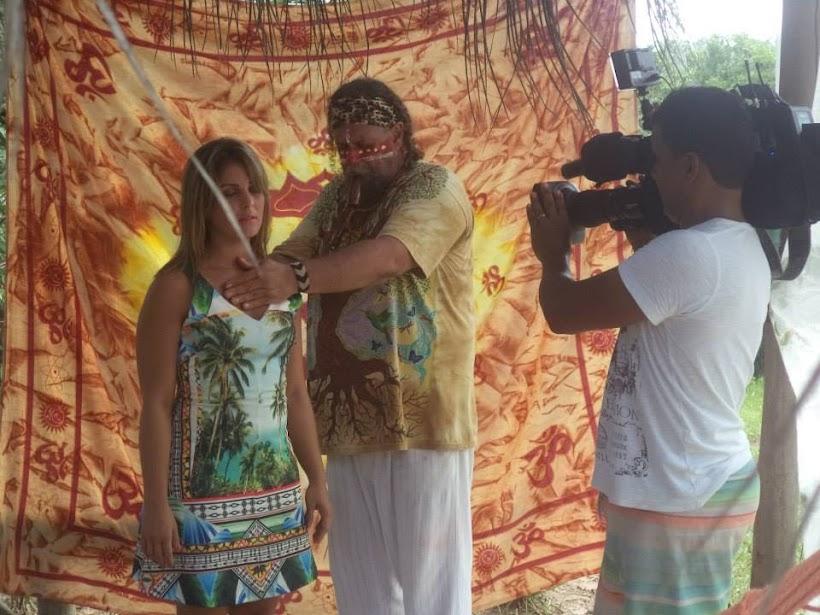 Reportagem TV Record na Ecovila da Mata