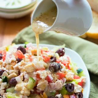 Greek Salad Dressing Olive Oil Vinegar Recipes