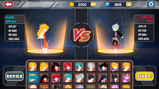 Stickman Warriors – Super Dragon Shadow Fight Apk Download For Android and Iphone Mod Apk 6