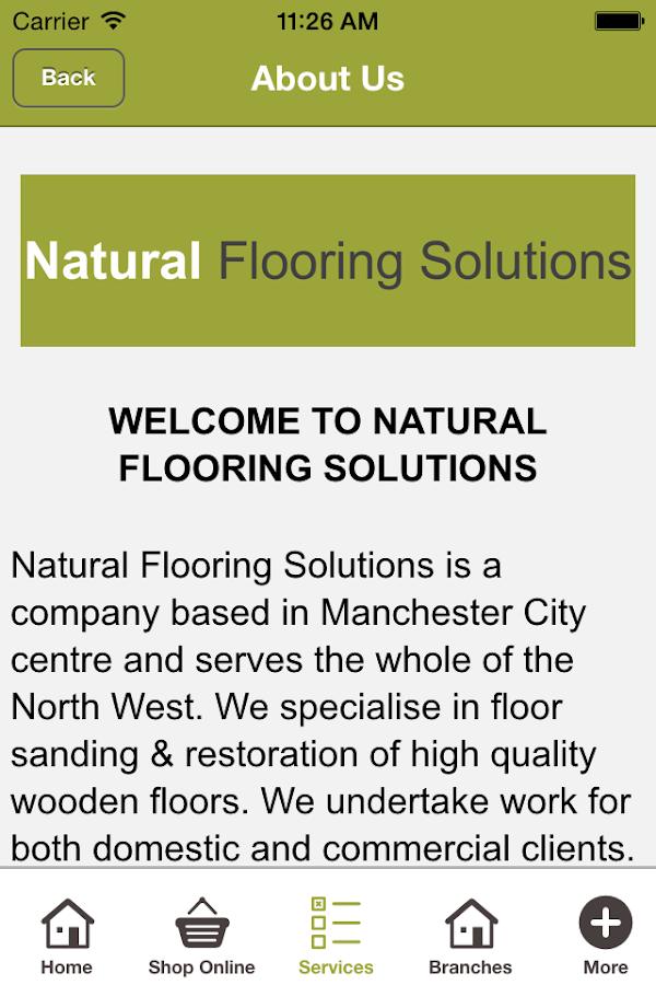 Natural Flooring Solutions- screenshot