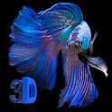 3D Betta Fish Live Wallpaper icon
