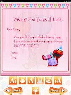 Birthday greeting cards maker android apps on google play birthday greeting cards maker screenshot thumbnail bookmarktalkfo Image collections